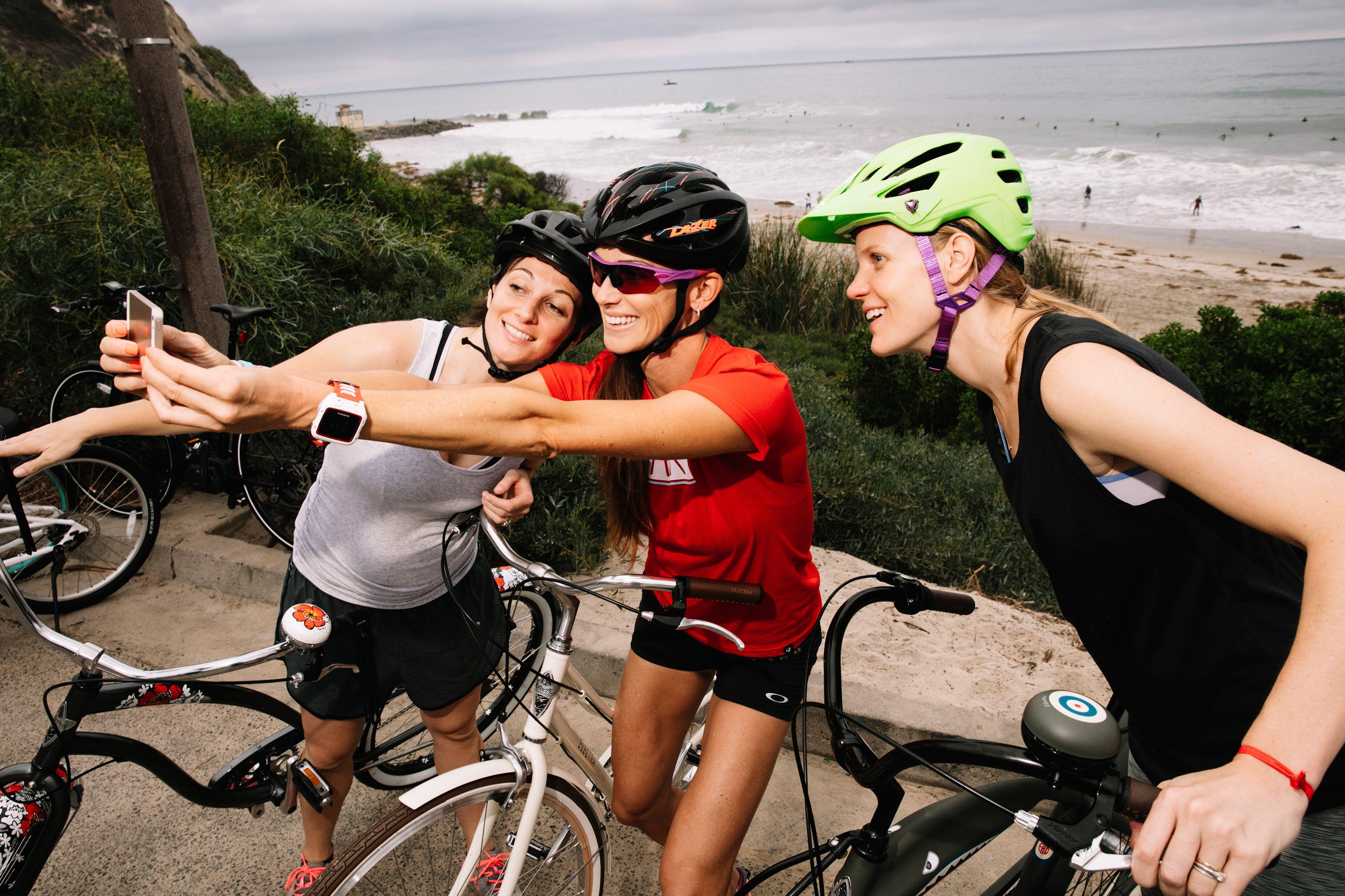 espnW: Women  Sports Summit: Trek Cycling selfie