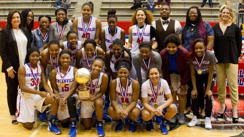 Duncanville girls' basketball