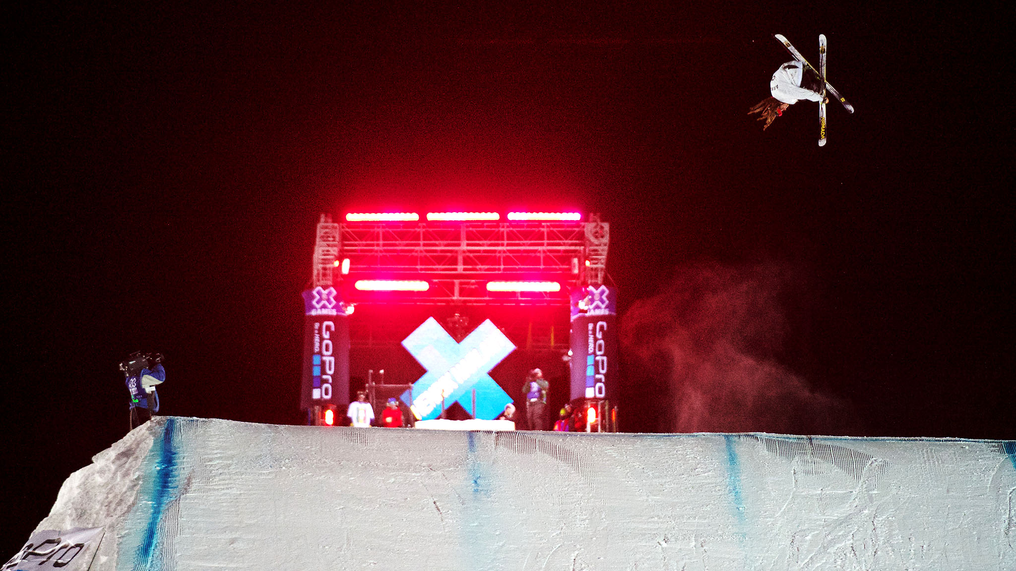 I love the adrenaline you get from contests, says Ski Big Air competitor Henrik Harlaut.