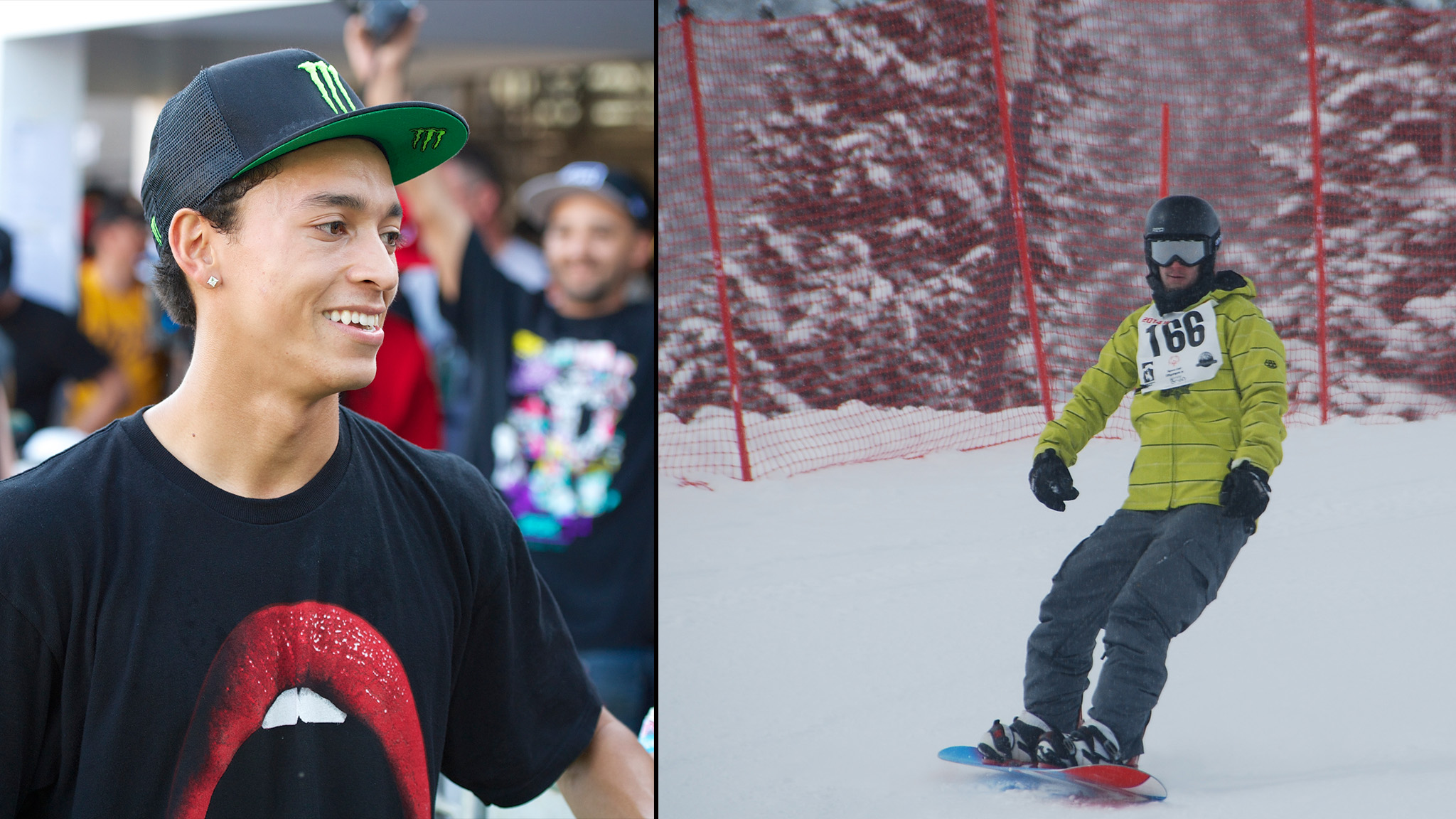 Nyjah Huston and Brian Doolan