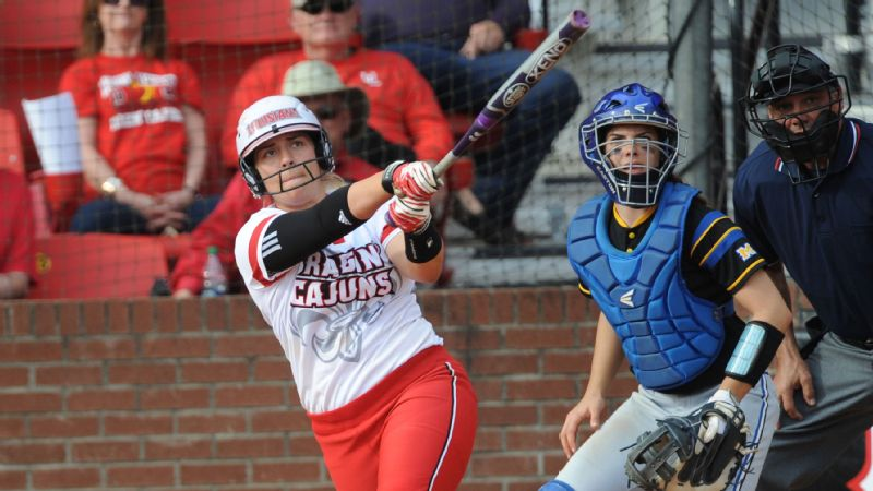 NCAA Softball Lexie Elkins