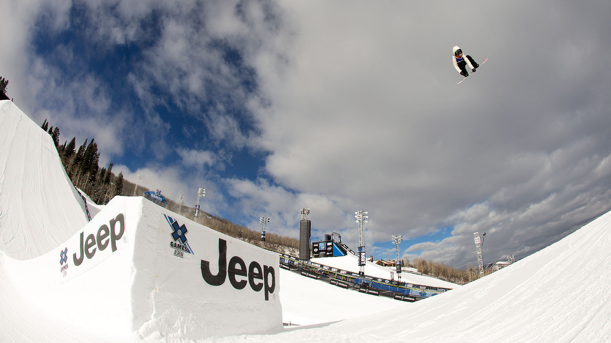 Women's Snowboard Big Air: Jamie Anderson