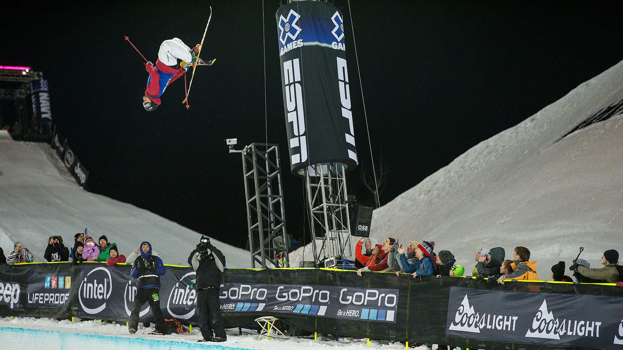 Men's Ski SuperPipe: Kevin Rolland