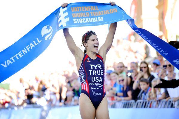 Sarah Groff True Stockholm Triathlon