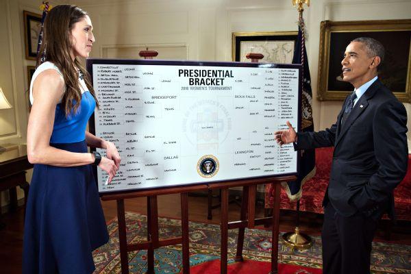 2016 Presidential Bracket - Women's