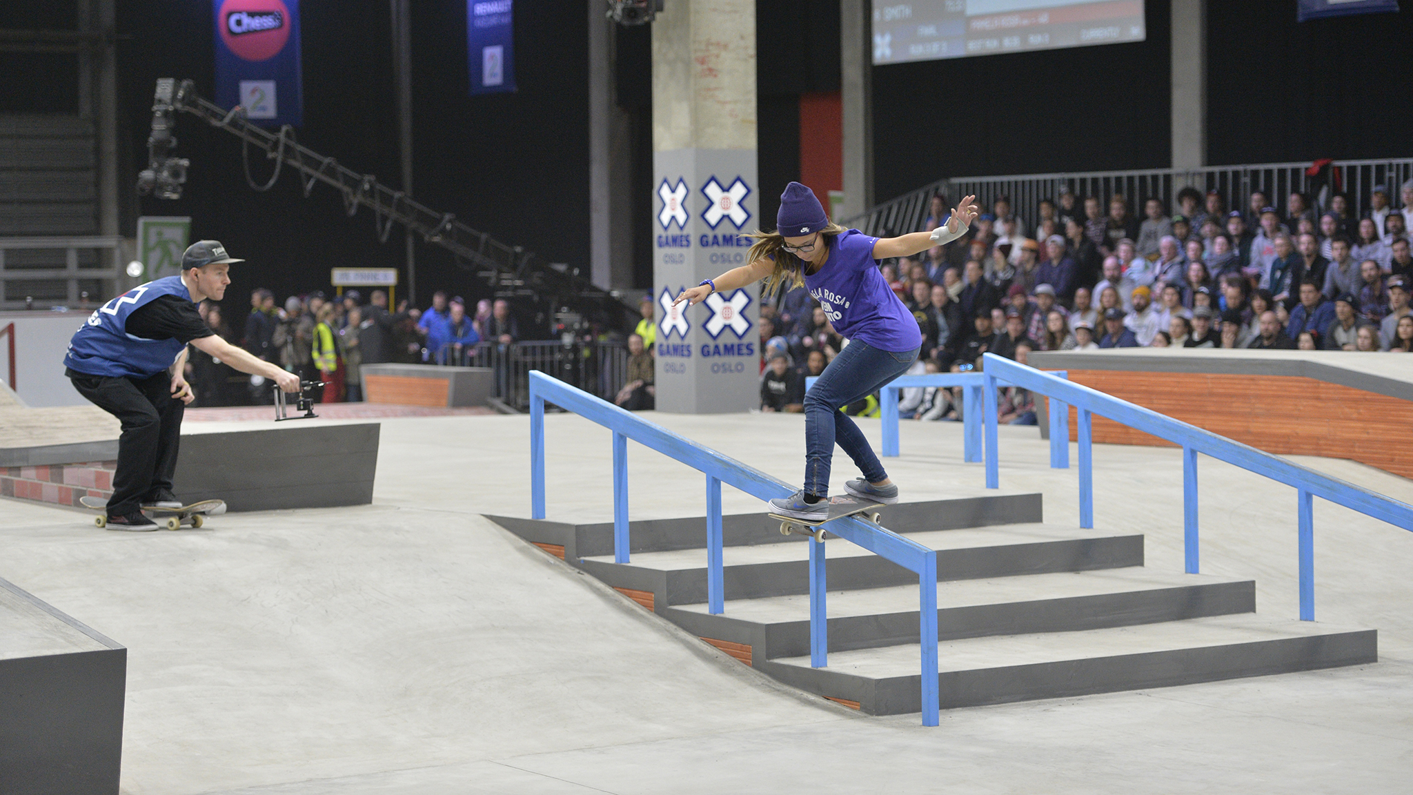 Pamela Rosa boardslides her way to gold at X Games Oslo 2016.