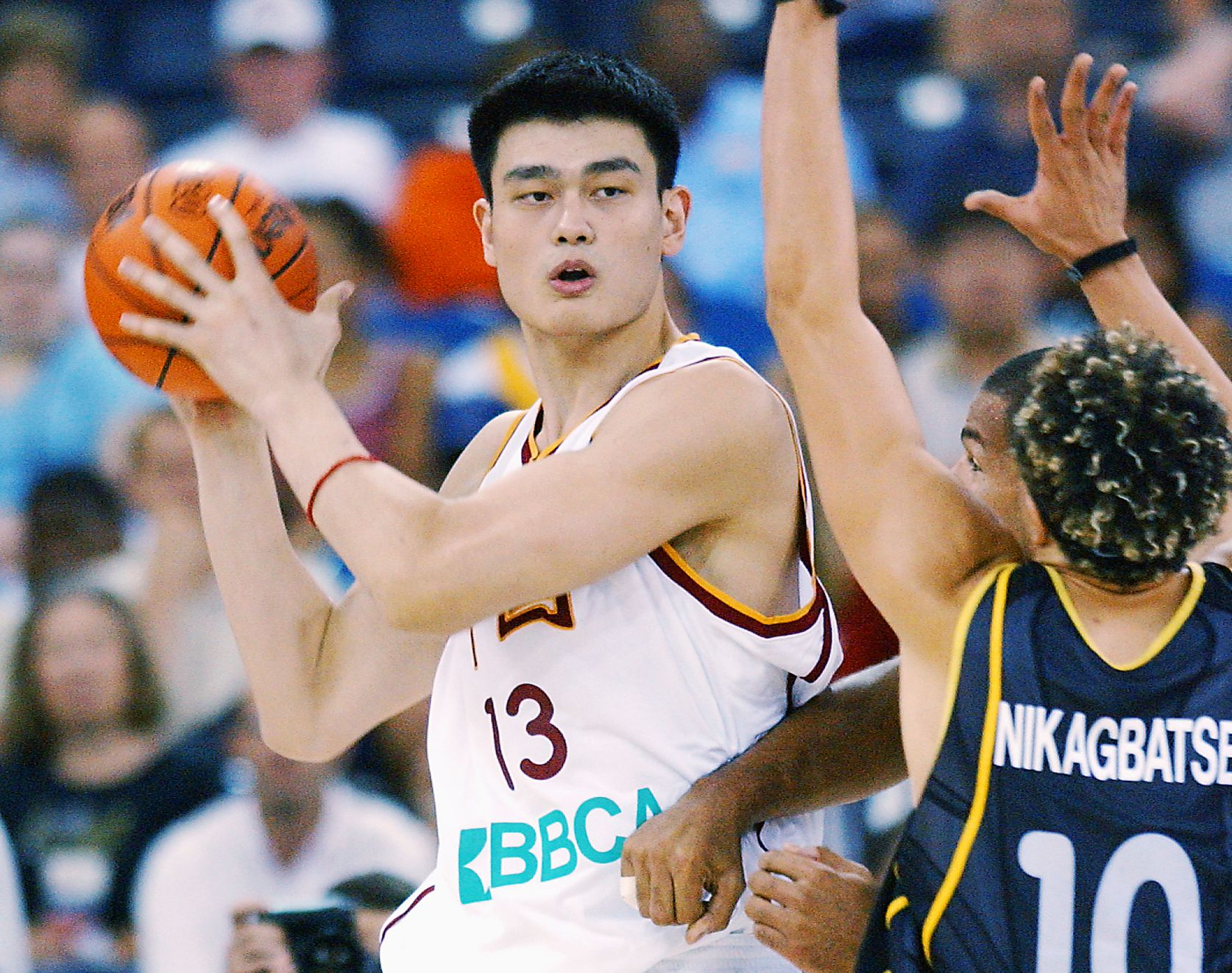 Yao Ming - Yao Ming: A hall of fame photo gallery - ESPN