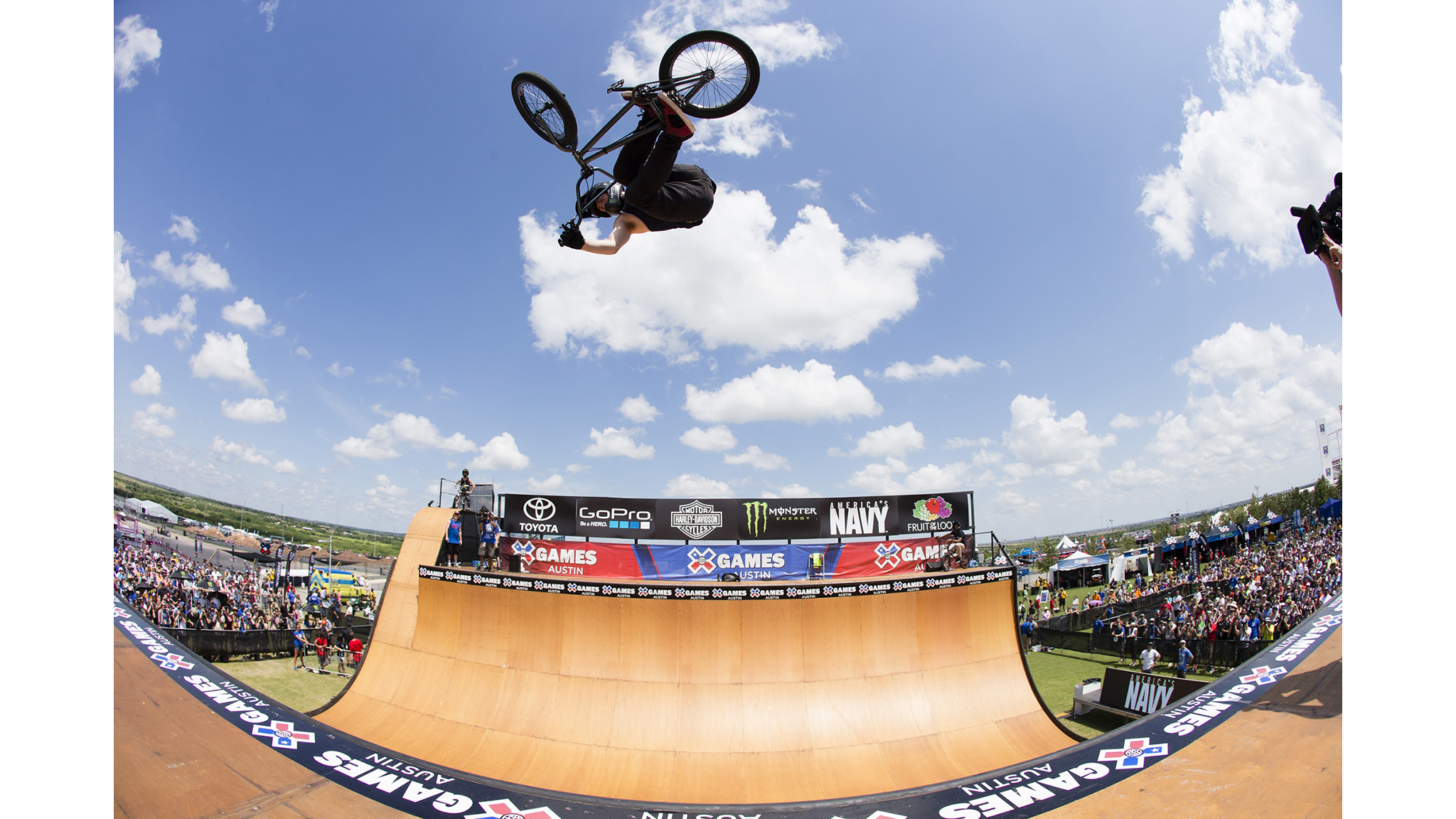 Vince Byron had competed in Bestwick's big shadow since his X Games debut in 2010. That all changed at X Games Austin 2015.