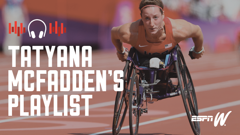 Spotify Athlete Playlist -Tatyana  McFadden and Lashinda  Demus
