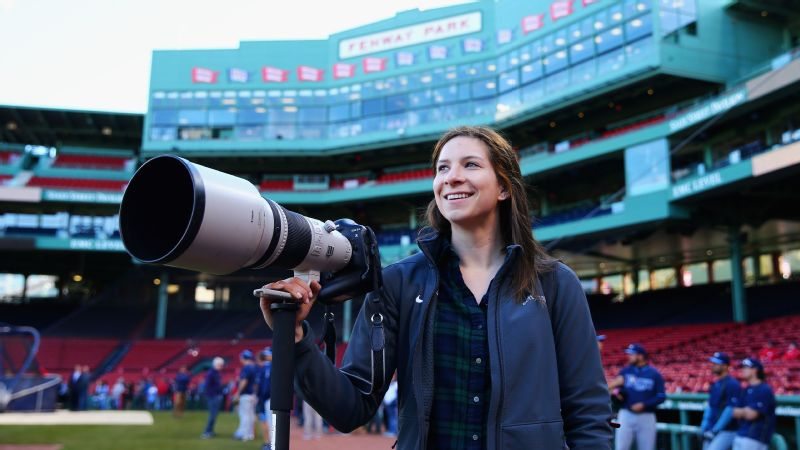 Maddie Meyer is no stranger to Fenway Park, Gillette Stadium or TD Garden, but this summer, she'll be shooting the Olympics in Rio.