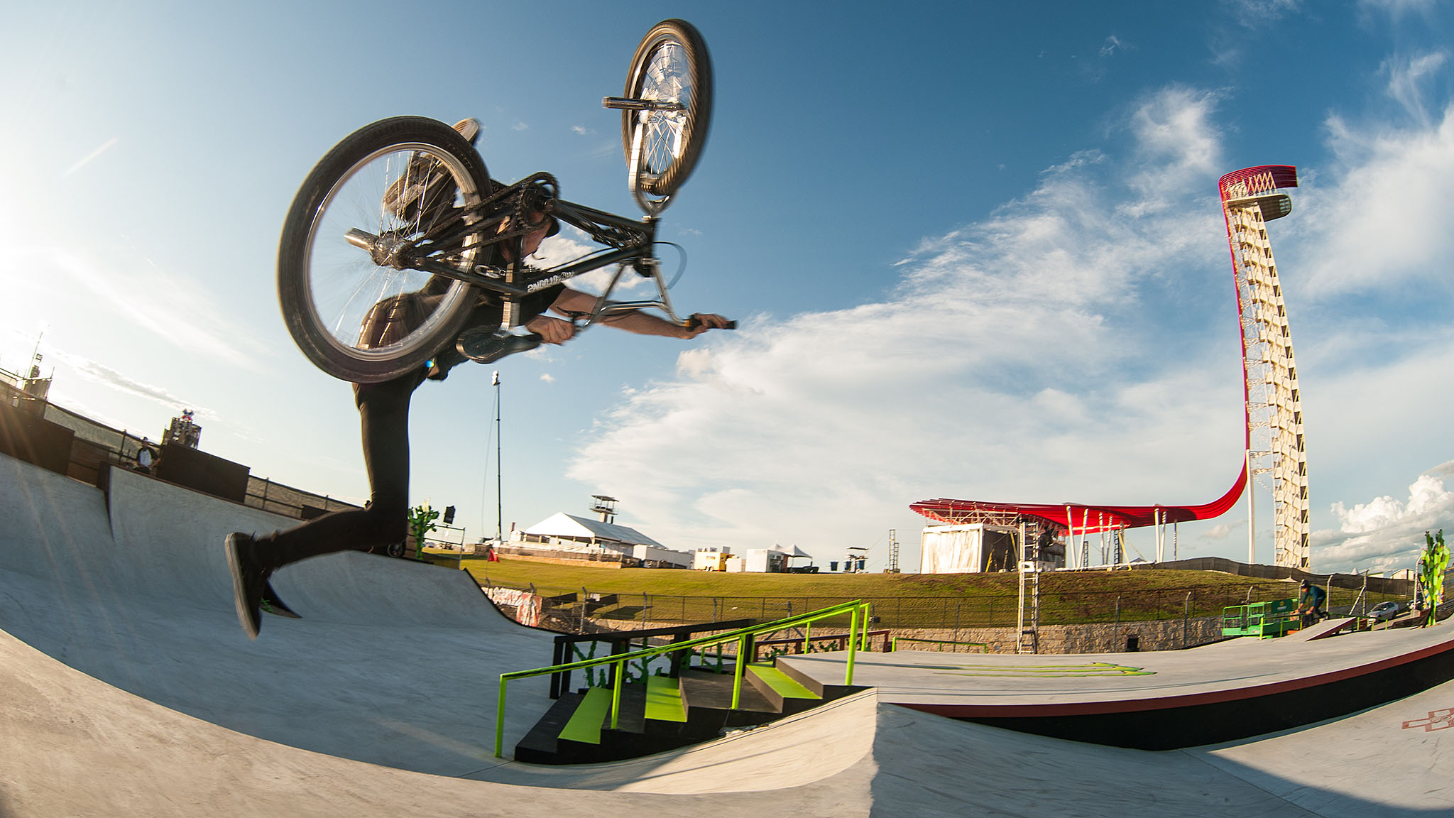 In 2010, BMX street legend Sean Burns was invited to compete in BMX Street at X Games. He gapped out of the course, over a camera man, and smoked a cigarette when the dust settled. He also made it onto SportsCenter for his antics. This year at X Games Austin 2016, Burns is a judge who doubles as the world's most adept fastplanter on the BMX Street course.