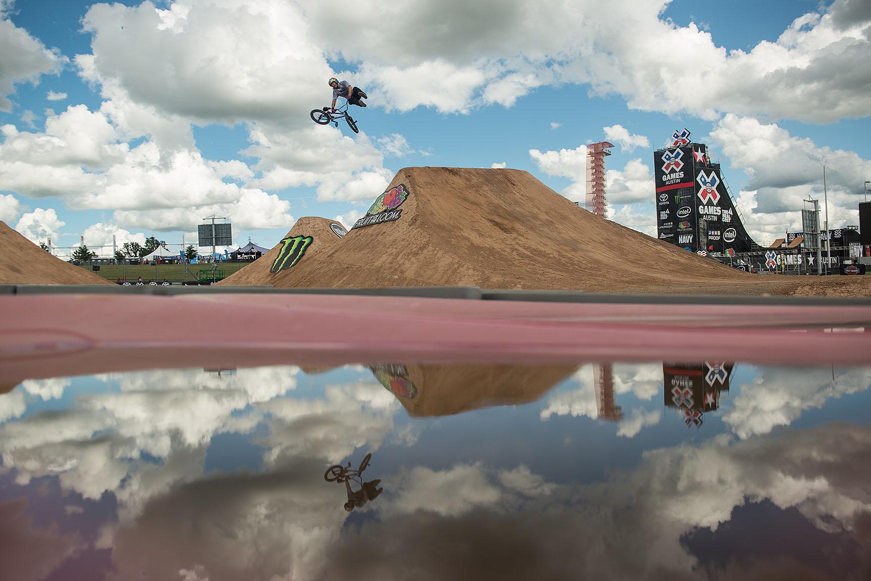 BMX Dirt practice ~ Mike Clark