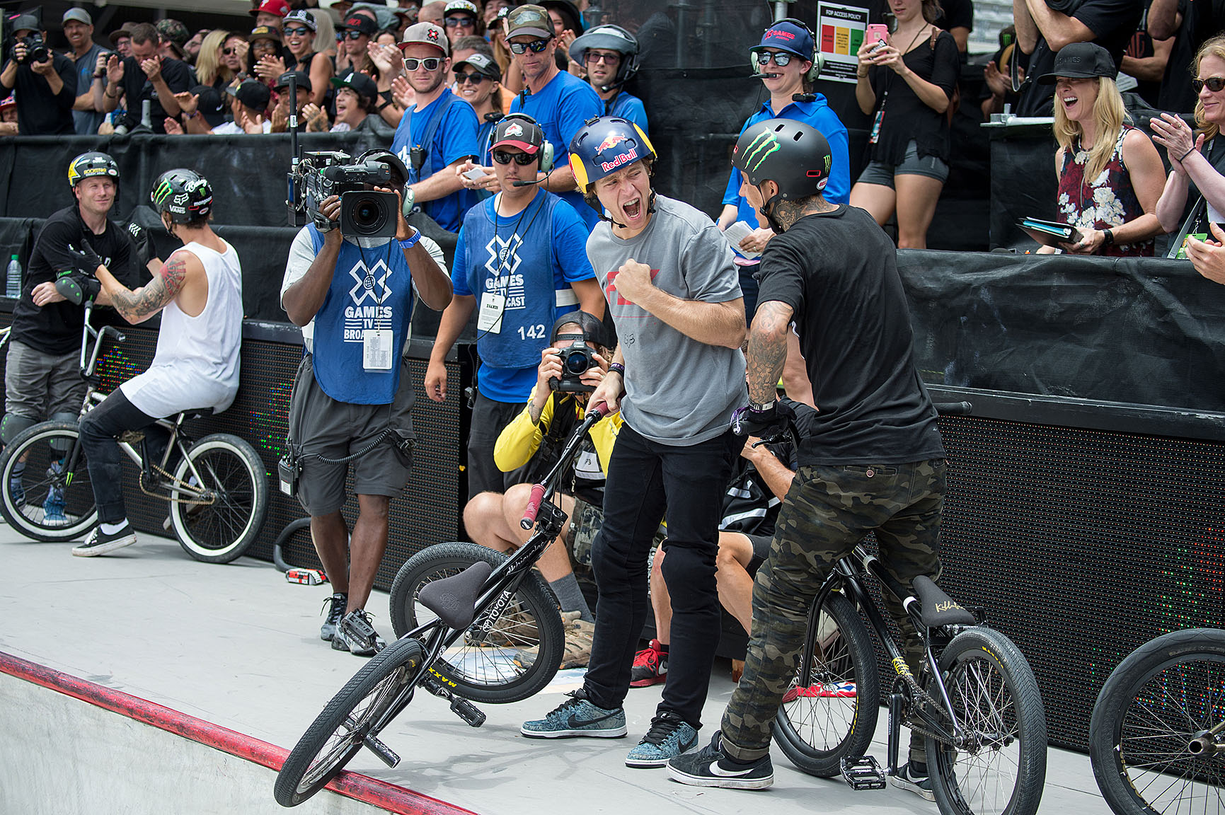 BMX Park final ~ Drew Bezanson