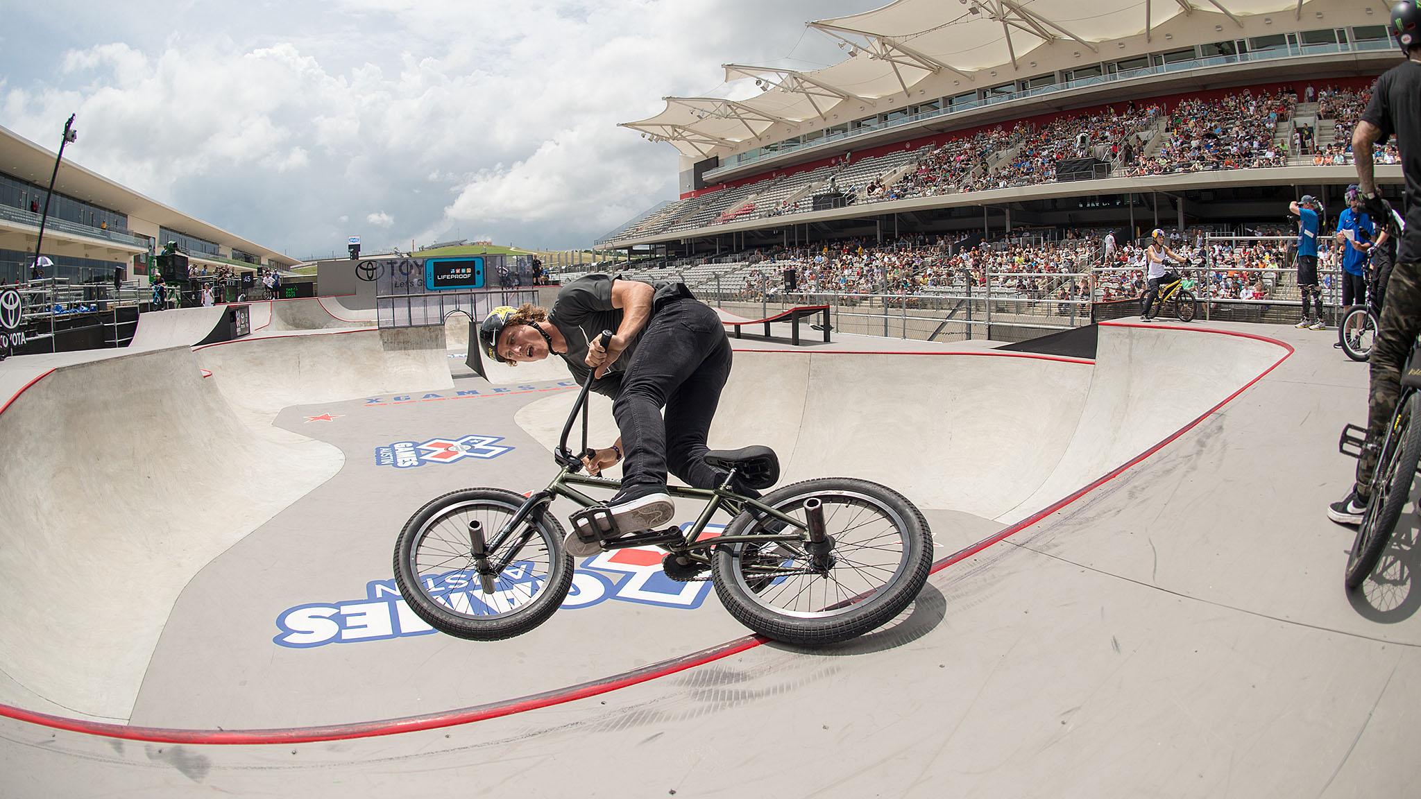 BMX Park final ~ Dennis Enarson