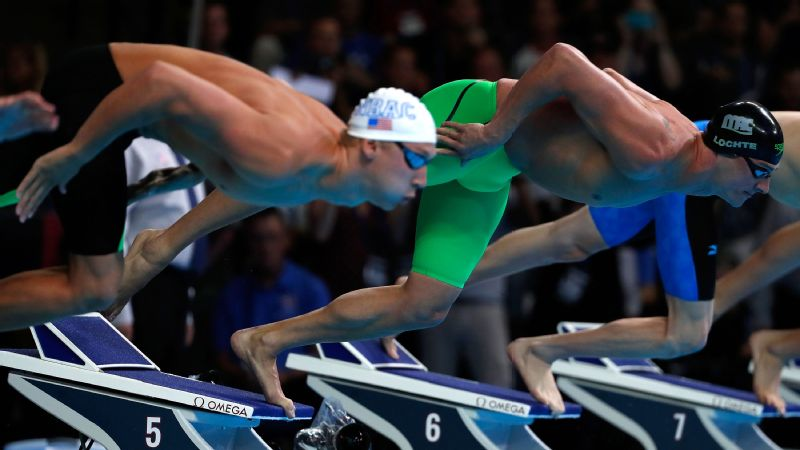 I thought about it this morning, about scratching, Ryan Lochte said of his reaction to a groin injury. But I mean, it's the Olympic trials. If I had a broken leg, I'd still go out there and swim.
