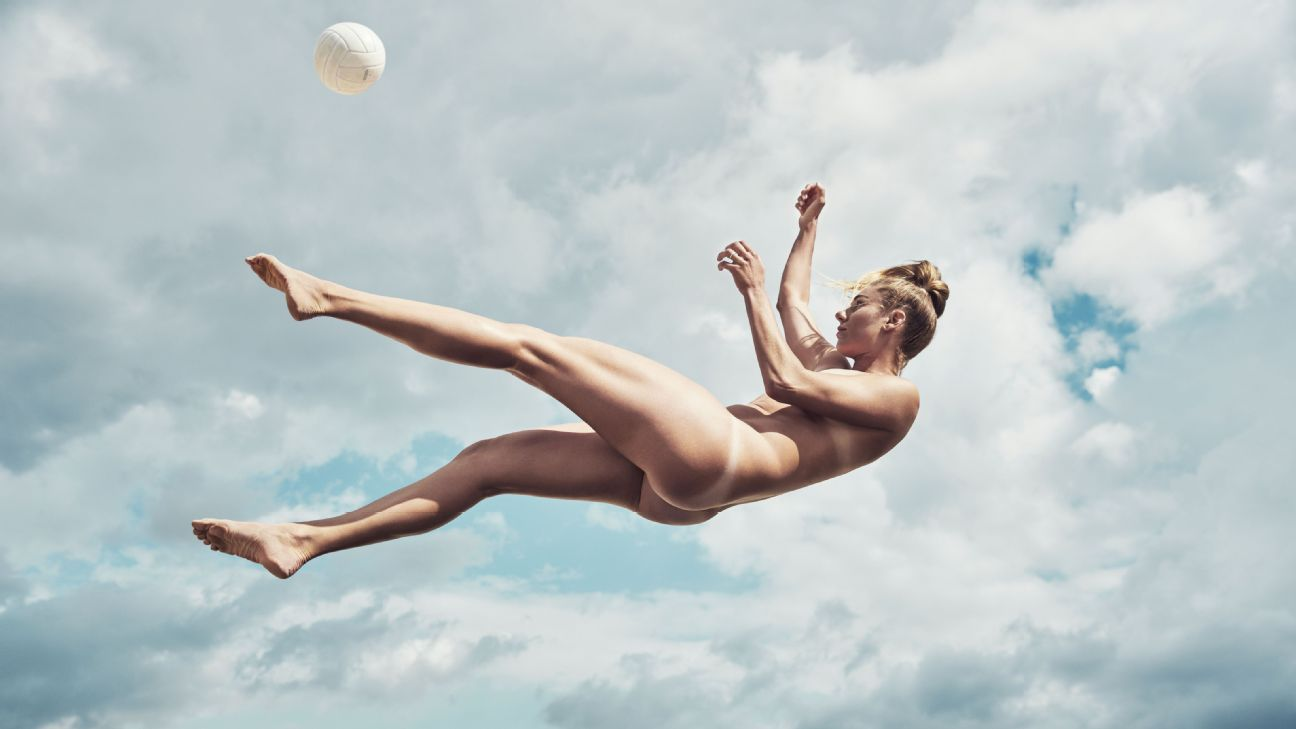 April Ross, olympics, volleyball, featured in the Body Issue 2016: Fully Exposed on ESPN the Magazine