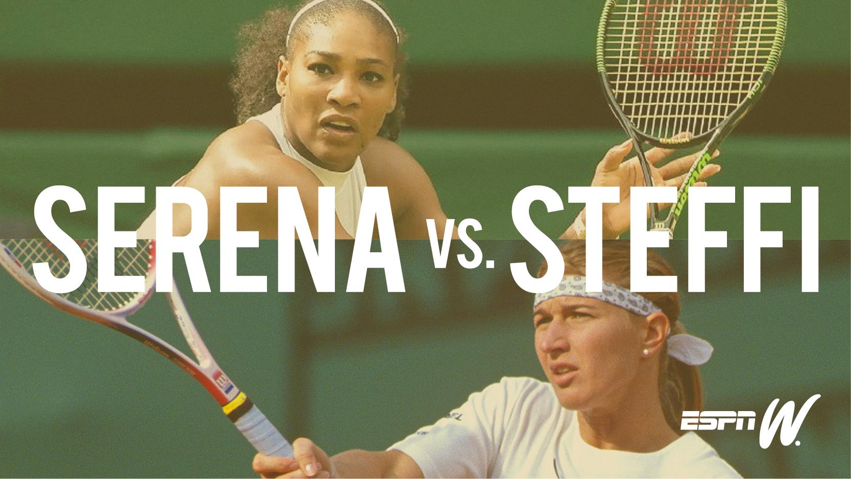 Serena vs steffi infographic MEM
