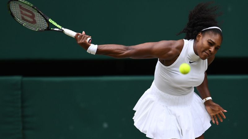 Serena Williams is coming off her seventh Wimbledon title earlier this month.