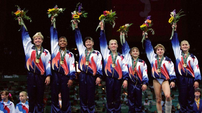 1996 olympic gymnastics team in 1996