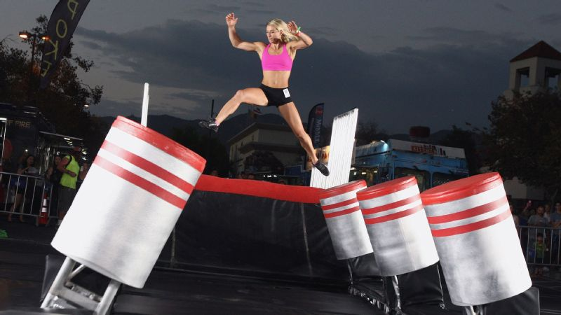 Jessie Graff attends the NBC's American Ninja Warrior Season 7 finale preview screening held at The Autry National Center in September 2015 in Los Angeles.