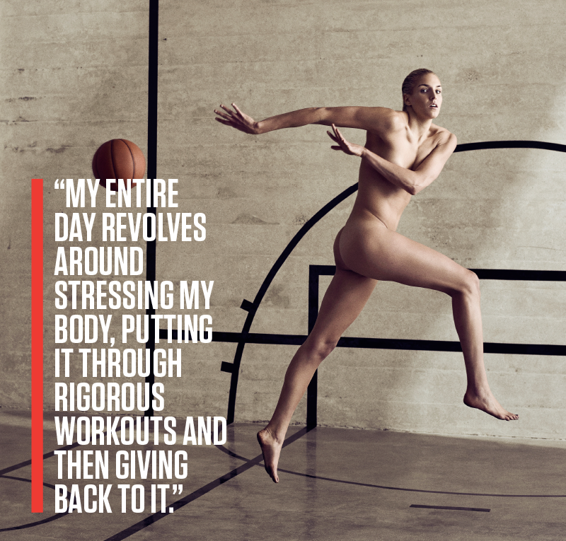 #HowSheGotThatBody Story Graphics - Elena Delle Donne