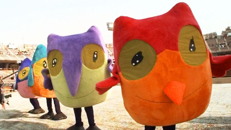 1998 Olympic mascots