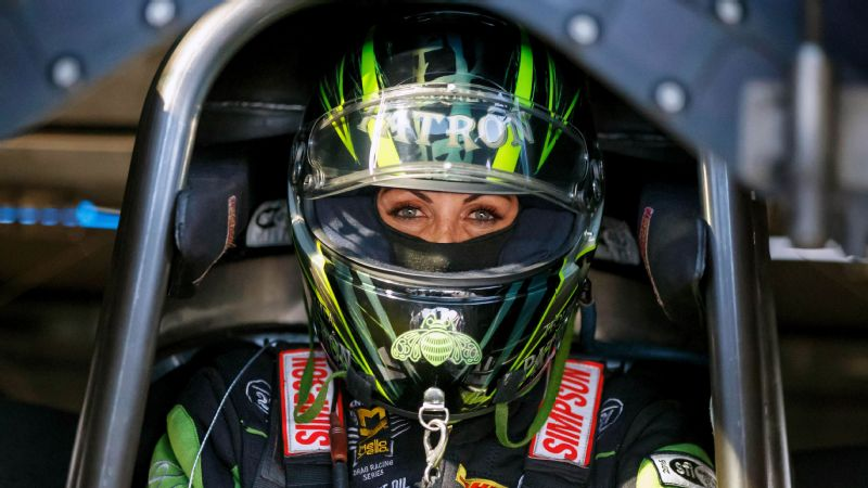 Now that she has made the Countdown, Alexis DeJoria said she has nowhere to go but up.