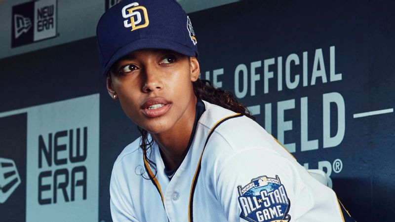 Kylie Bunbury stars as Ginny Baker, a young female MLB pitcher, in the new series Pitch.