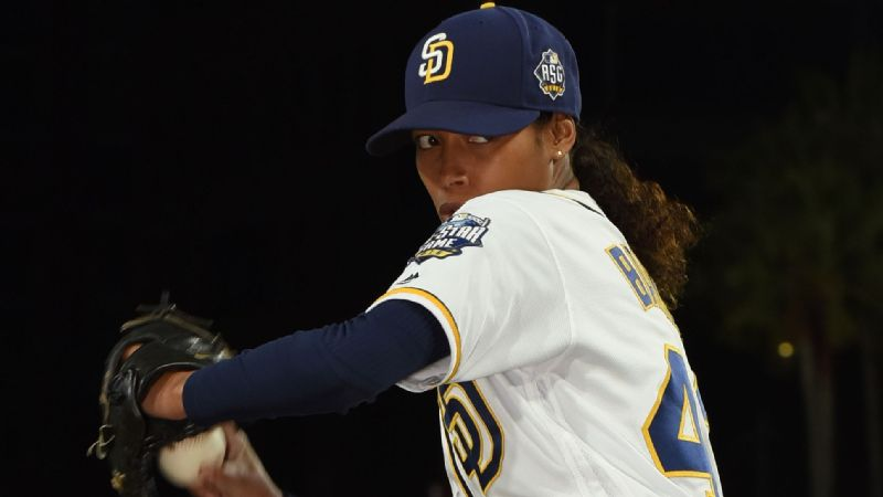 Kylie Bunbury plays Ginny Baker, the first female major league baseball player.