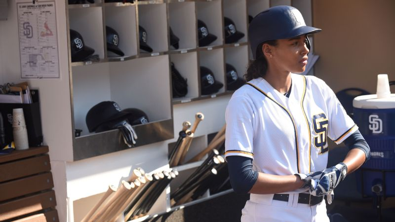 Kylie Bunbury played Ginny Baker, the fictional first woman to pitch in the MLB, in the Fox show Pitch.