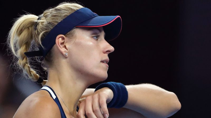 With her early loss in Beijing, Angelique Kerber failed to clinch the year-end No. 1 ranking.