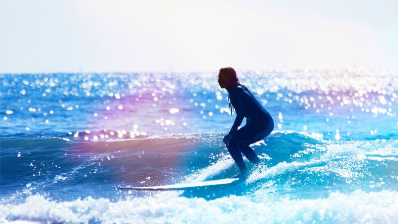 Nothing made me feel as good as surfing and, whatever markings of adolescence I might have had on the outside, on the inside I was starting to become a more confident girl, writes Anna Dimond.