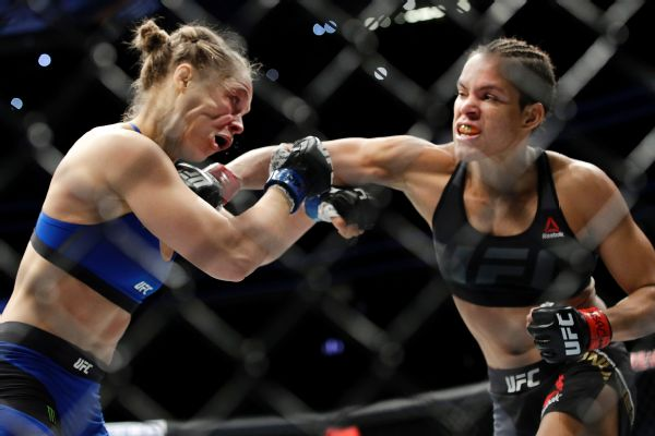 Amanda Nunes, Ronda Rousey