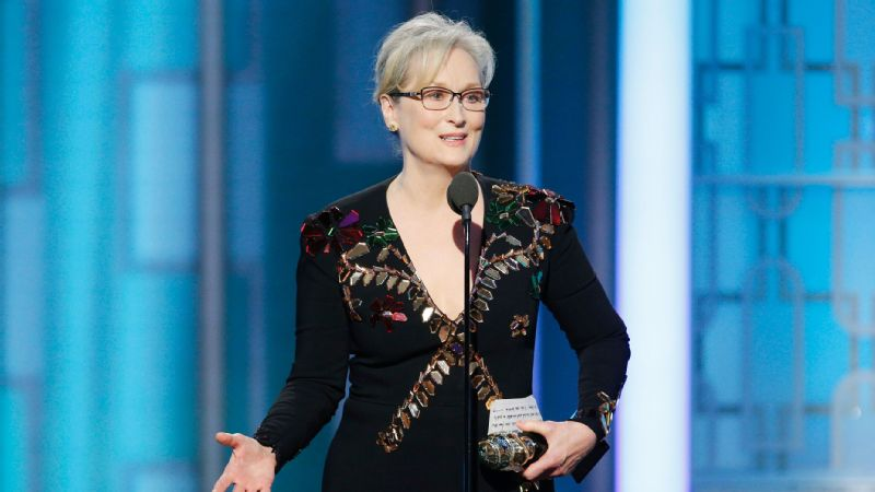 In an acceptance speech at the Golden Globes, actress Meryl Streep pointed out that Hollywood is really just a collection of talent from all over the world, stemming from all walks of life, rather than this monolithic group of elites.