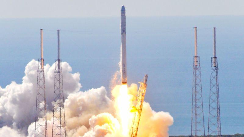 Space X's Falcon 9