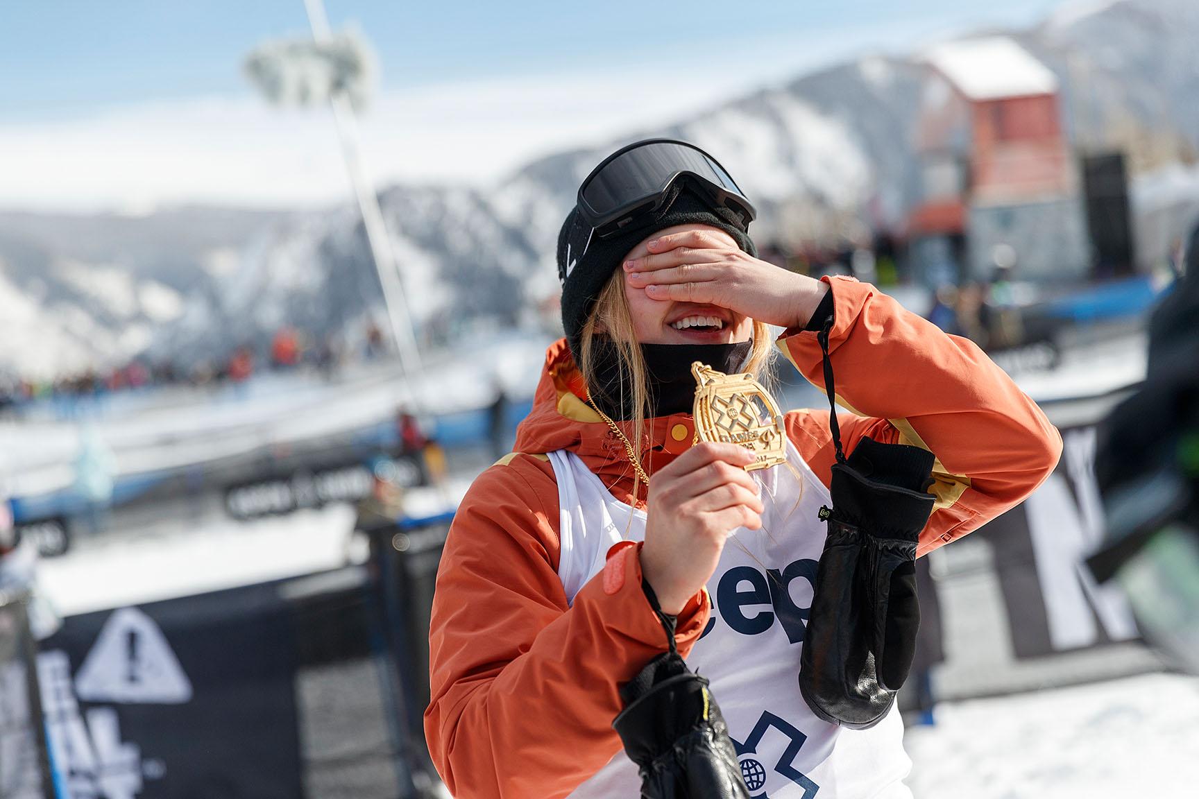 13]   Julia Marino, Women's Snowboard Slopestyle