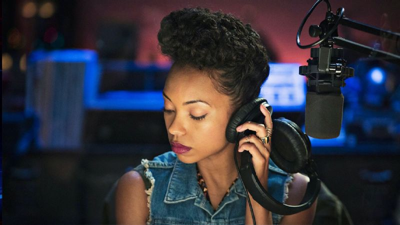 Logan Browning plays Samantha White in Netflix's Dear White People.