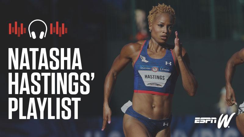 espnW Spotify Playlist - Natasha Hastings