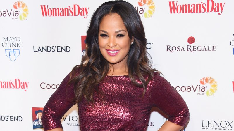 Laila Ali was honored at the Red Dress Awards in New York City on Tuesday night for her heart health advocacy work.
