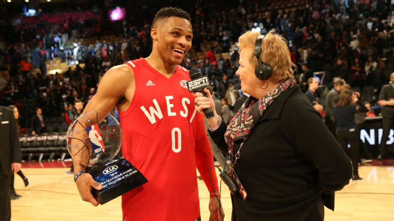 Shelley Smith recalls the dark ages when only three women would cover NBA All-Star Weekend. Now, there are a lot more female colleagues who have joined her on the sidelines and in the press box.