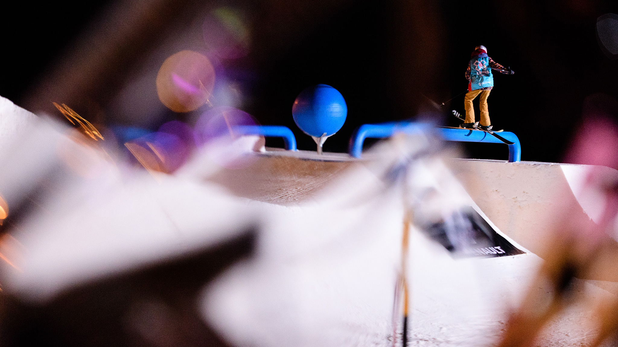 Kelly Sildaru, Women's Ski Slopestyle practice