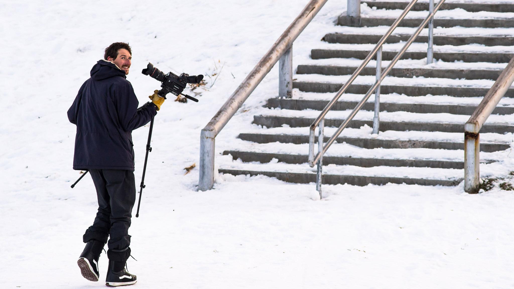 Paul's filming teammate: Colton Morgan