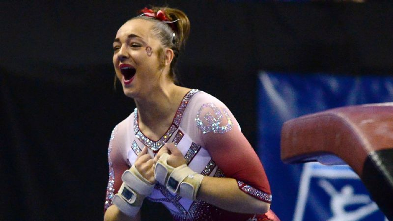 Freshman Maggie Nichols cemented her status as one of the best gymnasts at the college level after leading Oklahoma to its third NCAA championship in four years.
