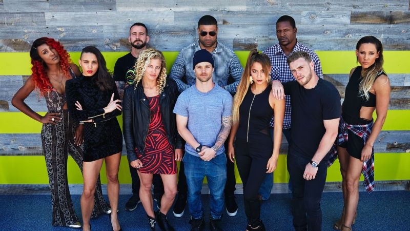The pro athletes' squad from MTV's The Challenge: Champs vs. Pros.