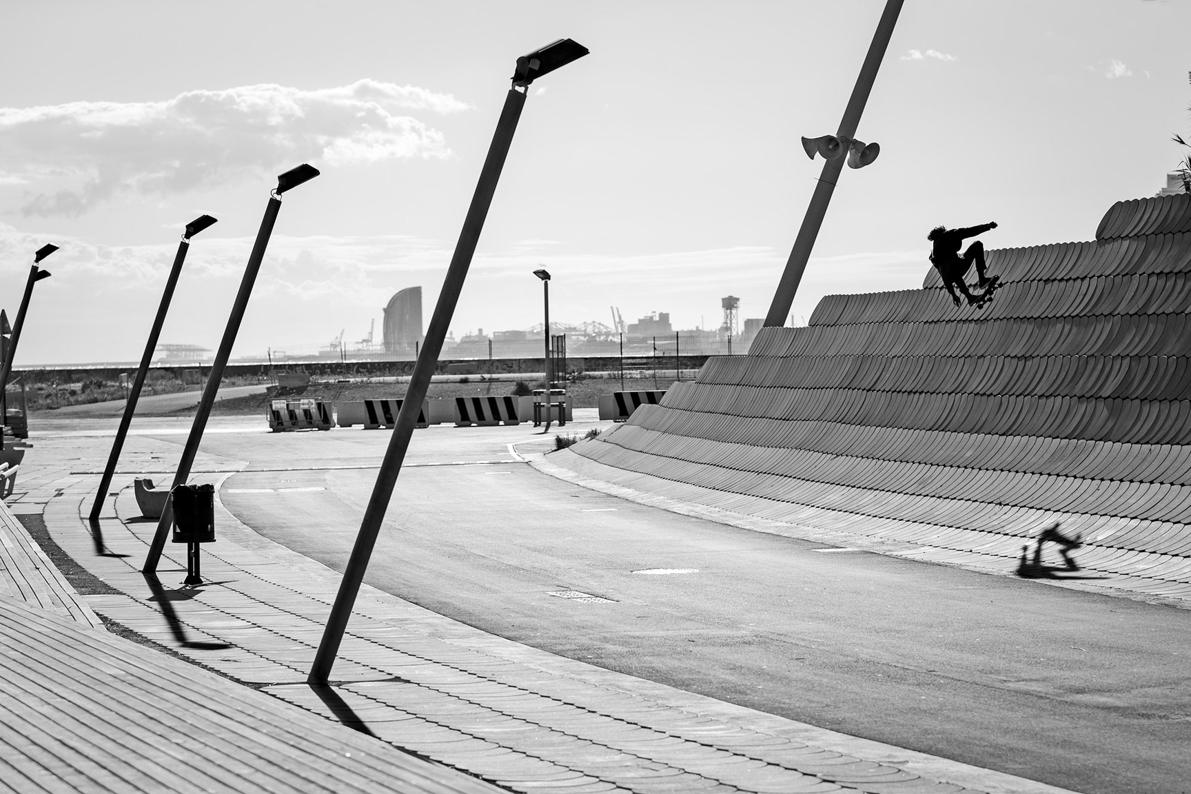Curren Caples, Spain