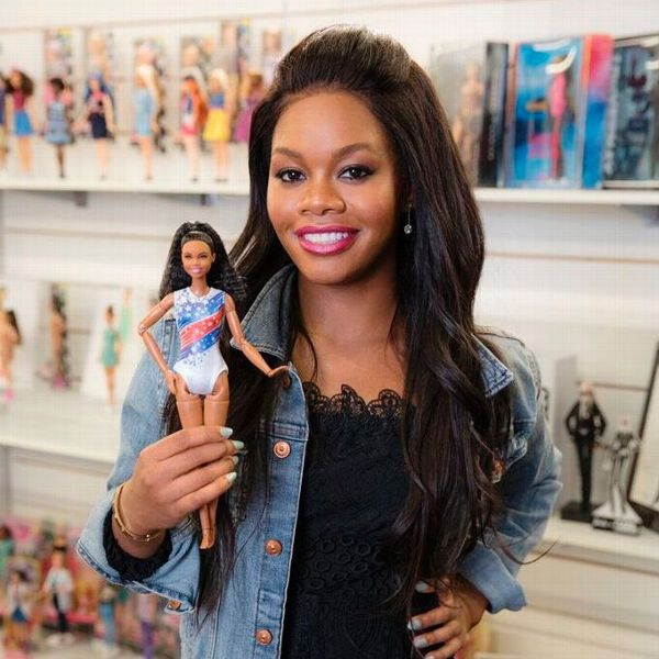 Douglas helped develop the Barbie doll in her likeness by providing input on body, clothes and hair.