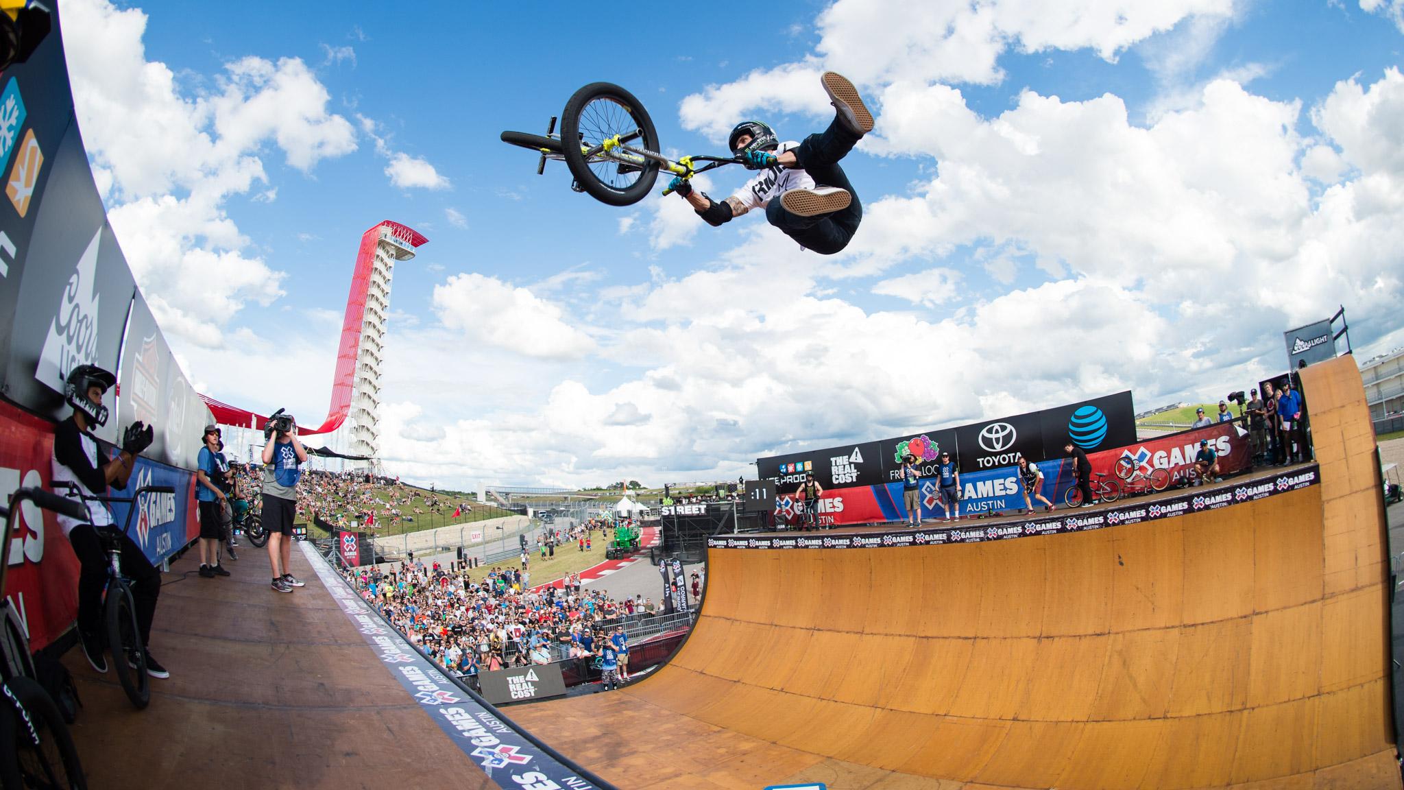 BMX Vert: Jamie Bestwick