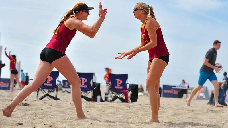 USC beach volleyball