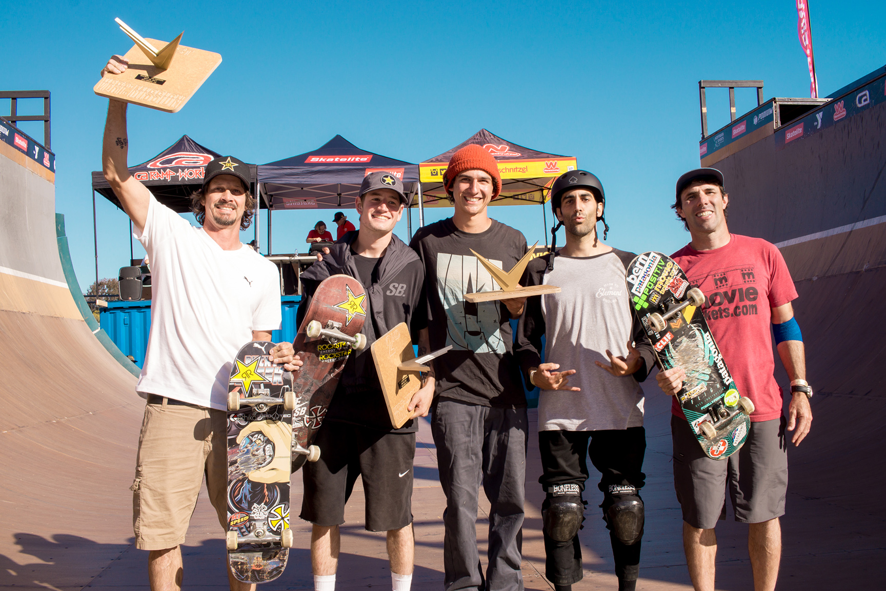 Skate winners