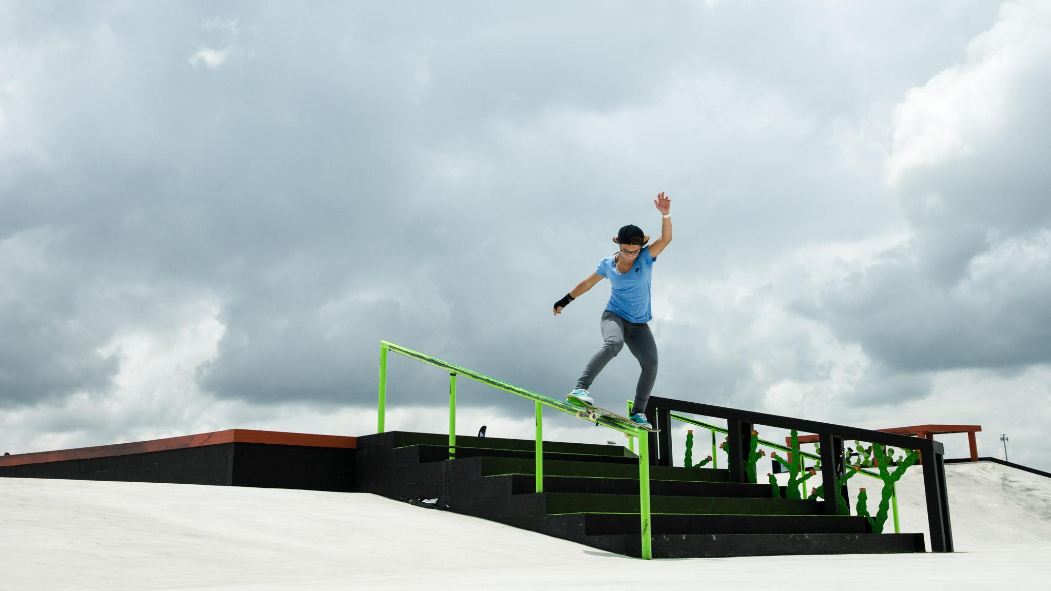 Pamela Rosa: Women's Skateboard Street